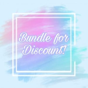 Bundle For Discount!